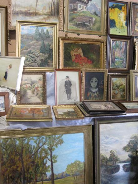 vintage picture frames art