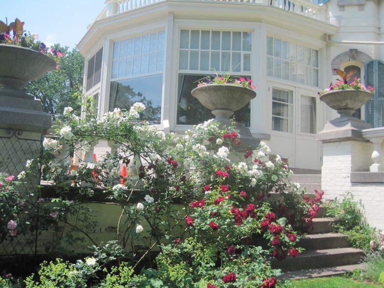 spadina museum garden