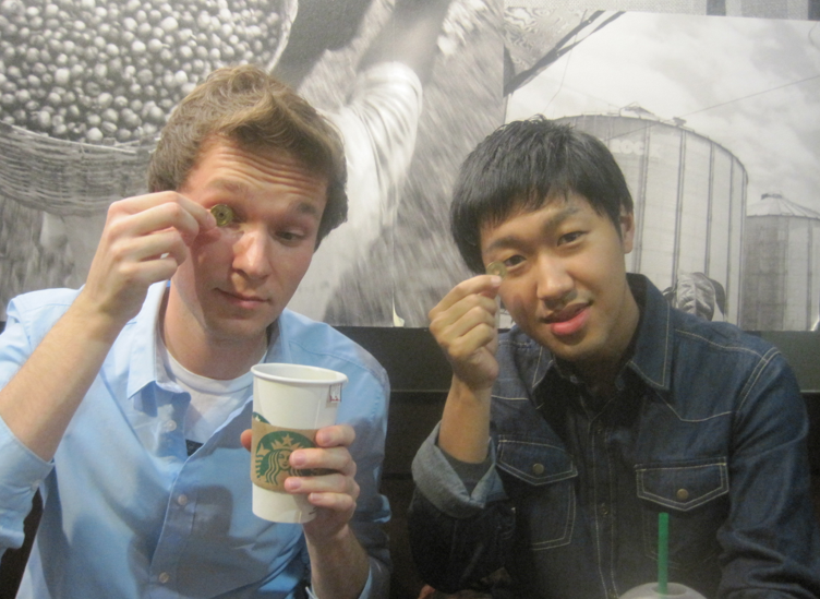 starbucks with friends