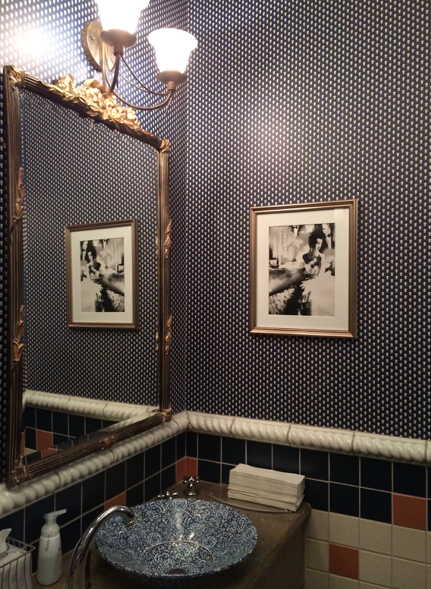 This was our favourite powder room