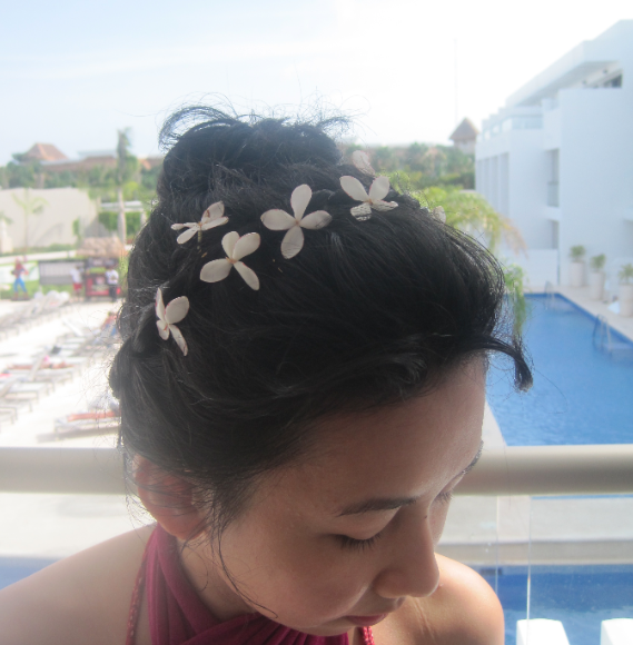 Wee flowers in my hair
